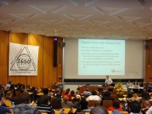 General Assembly oli sveitsiläiseen tapaan hyvin organisoitu. (Kuva: Katri Nuuja)