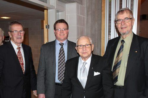 Ilmari Koppinen 100-vuotisjuhlassaan